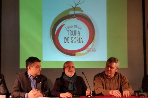La Feria de la Trufa de Soria, presente en el Trufforum